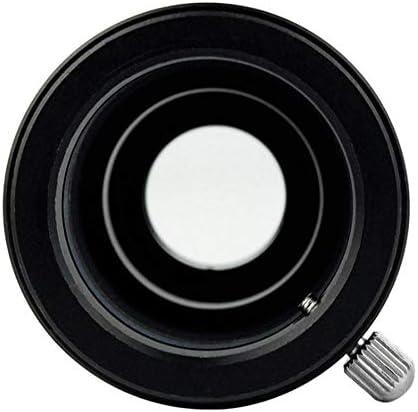 Monland Telescopic Barlow Lens,1.25inch 5X Magnification Aluminum Lens M42 0.75 Thread Barlow Lens for 31.7mm Telescope Eyepiece