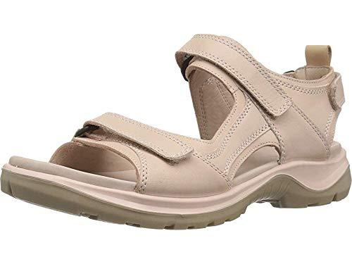 ECCO Women's Yucatan outdoor offroad hiking sandal, rose dust/powder, 11 M US
