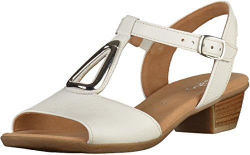 Gabor Comfort - Dames Sandalen - Zwarte Schoenen In De Maten Over Wit