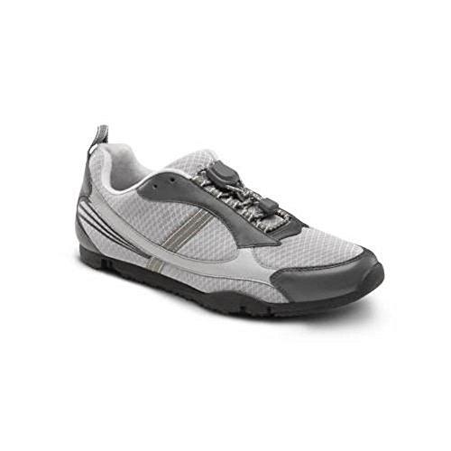 Dr. Comfort Sandy Flex-OA Women's Shoe For Knee Pain Osteoarthritis OA: Grey 11 Medium/Wide (B-D) Lace (Dr Comfort Shoes For Women Knee)