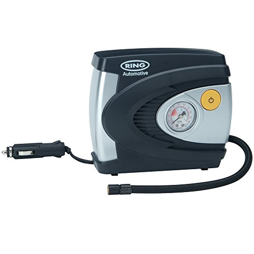 Ring RAC610 12V Analogue Tyre Inflator, Air Compressor Tyre Pump, 4.5 Min...