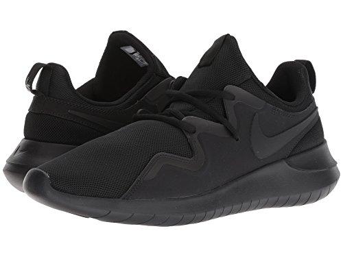 [NIKE(ナイキ)] メンズランニングシューズ?スニーカー?靴 Tessen Black/Black 6 (24cm) D - Medium