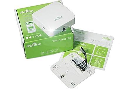 Termostato WiFi iPdomo - Control de calefacción a través de Internet: Amazon.es: Bricolaje y herramientas