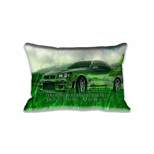 Superior Different Designs Of Pillow Cases With Nissan Skyline GTR R34 Crystal  Nature Car...   Aero Custom Zippered Throw Cushion Covers New Arrival  Custom ...