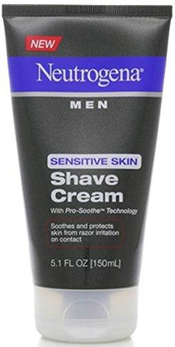 Neutrogena Men Sensitive Skin Shave Cream 5.10