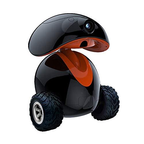 BTTNW PE Automatischer Futterautomat Pet Companion Intelligente Roboter-Hund Fernsteuerungshaupt Sicherheits…