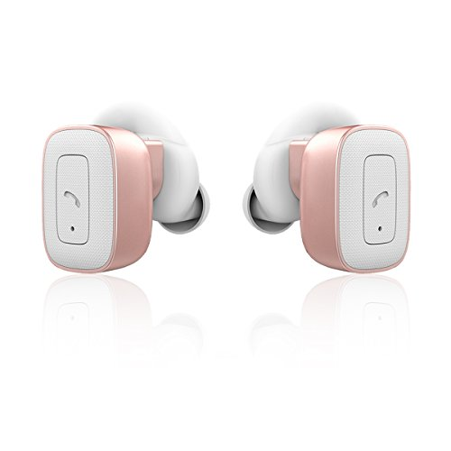 allimity Cordless True Wireless Headphones Bluetooth Stereo Wireless Earbuds with Mic for iPhone 7 Plus iPhone 6s iPhone 6 iPhone 5s Samsang Noise Cancelling Sweatproof In Ear Earphones