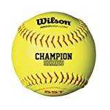 Wilson A9031 Super Seam Technology ASA Softballs from Case of 3 Dozen