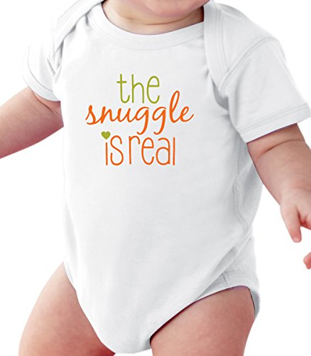 Pure Soul The Snuggle Is Real - Funny Wizard Baby Romper Onesie Unisex WARPPED and Protected With A Clear Poly Bag