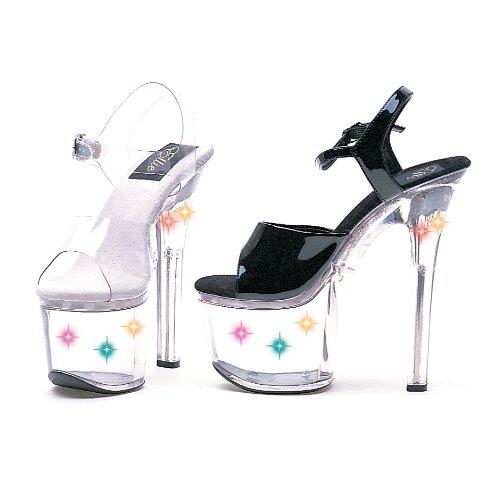 Ellie Chaussures Femmes L7-flirt (avec Des Lumières) 7 Sandales Plateforme Disponibles En 3 Couleurs Claires