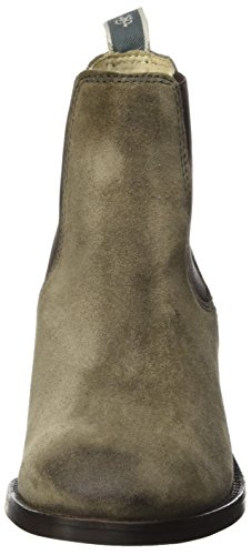 Marc O'Polo Women's Mid Heel Chelsea 70814215101304 Slouch Boots Braun (Taupe) PdaJNi