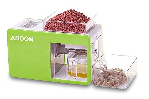 Semilla Aboom Peque?o aceite de girasol expulsor para hacer aceite saludable para los 18 tipos de plantas oleaginosas...