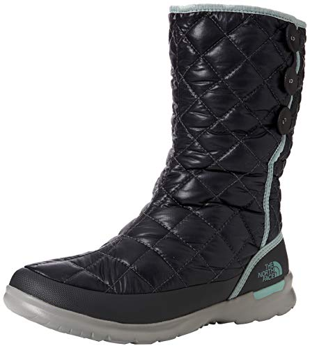 Neige North Insulated 5qc De Haze Button Pearl Face Noir The shiny Femme up blue Bottes Thermoball Blackened BqRAwx81H