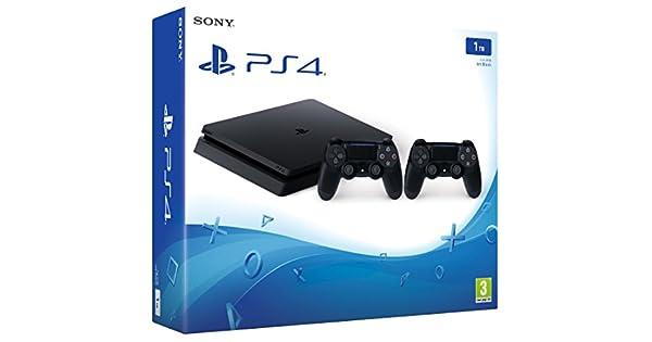 PlayStation 4 (PS4) - Consola 1 TB Con 2 Mandos DualShock V2: Amazon.es: Videojuegos