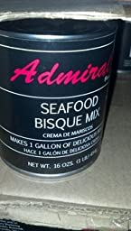 Admiral Seafood Bisque Base 16 Oz.