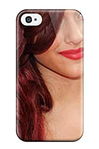 For Iphone 4/4s Protector Case Red Velvet Hair30 Phone Cover