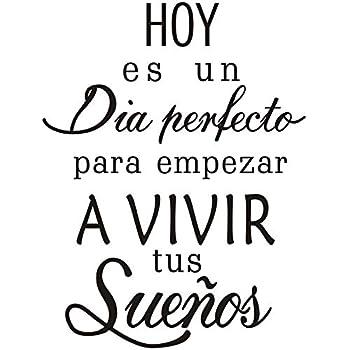 Spanish Quotes Amazon.com: Boodecal Spanish Quote Wall Decals Hoy Es Un Dia  Spanish Quotes