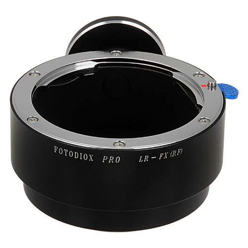 Fotodiox Pro Lens Mount Adapter, Leica R Lens to Fujifilm X Camera Body (X-Mount), for Fujifilm X-Pro1, X-E1 by Fotodiox