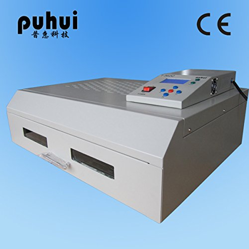 Picture of T-962C Reflow Oven Infrared IC Heater Soldering Machine 2500 W 400 x 600mm T962C for BGA SMD SMT Rework CE Certificate