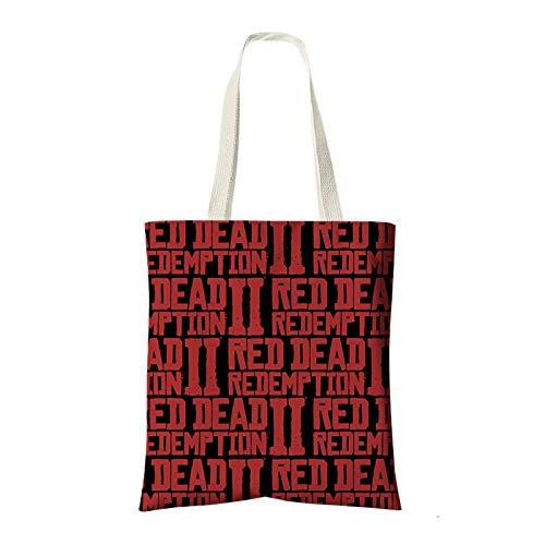 Bolsos Juego Mano 2 De Redemption Mujer Y 6 Elemento Hombre Dead Red Hombro Bolso paqvrwp