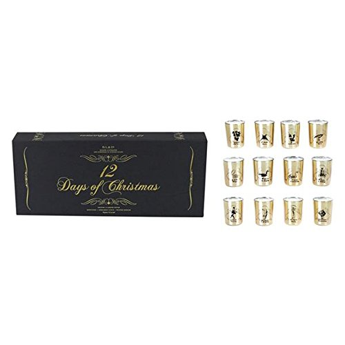 D.L. & Company 12 Days Of Christmas 12x2.5oz Votives Candle by DL