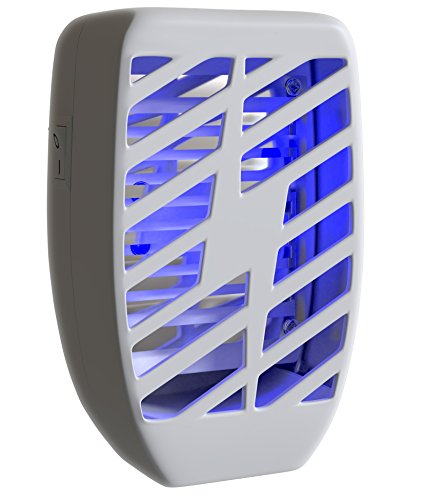 Bug Zapper & Electric Indoor Insect Killer Plug In – Mosquito, Bug, Fly & Other Pests Trap –...