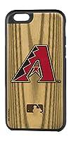 "MLB Arizona Diamondbacks Rugged Series Phone Case for iPhone 6/6S, 5.75 x 2.75"", Brown"