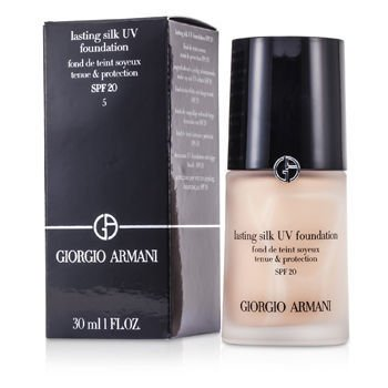 Giorgio Armani Lasting Silk Uv Foundation SPF 20 - # 5 Warm Beige 30ml