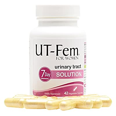 UT-Fem UTI Solution Urinary Tract Infection 7-Day Cleanse For Bladder & Urinary Tract Health 42 Capsules