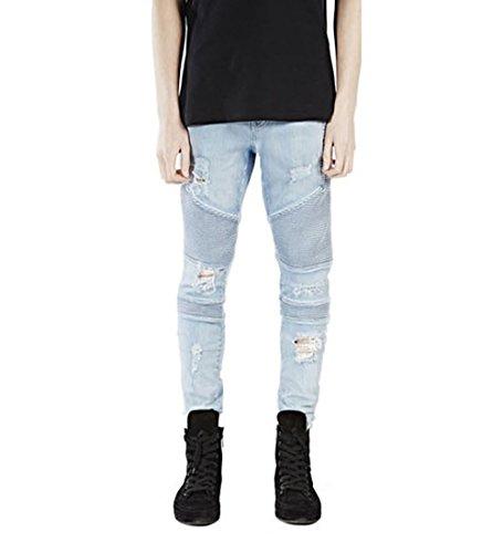 Zip Pocket Cargo Jeans - 7