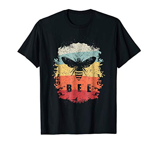 Vintage Beekeeper T-Shirt Retro Honey Bee Shirt Beehive Gift]()