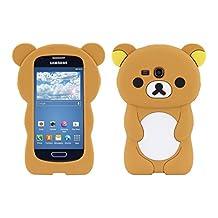 kwmobile SILICONE CASE Design bear Samsung Galaxy S3 Mini - Stylish design and optimal protection