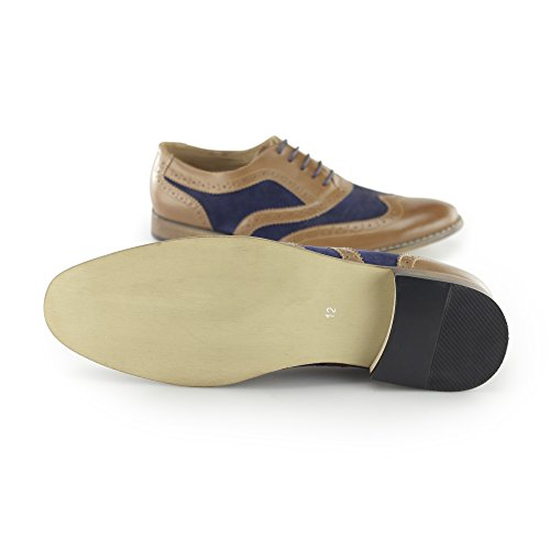 Multicolor Tan Hombre Zapatillas Goor Blue Para CxqtPaq1