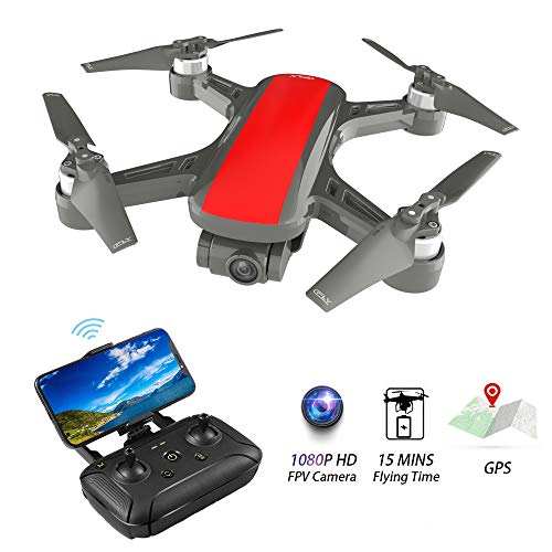 Portable Drones with Camera for Adults - Quadcopter 1080P HD...