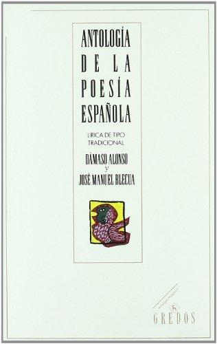 Antologia De La Poesia Espanola (Spanish Edition)