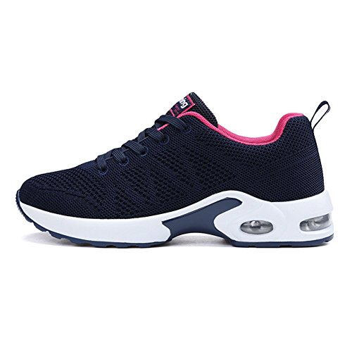 Eu Homme De Bleu Femme 43 Baskets Fitness Sports Gym Chaussure Sneakers 34 Course 1 Air Running Sport r6rqg