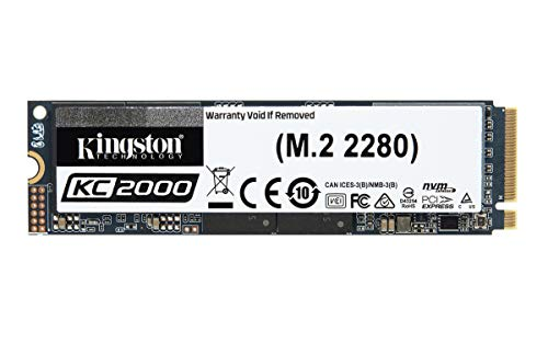 Kingston 2000GB KC2000 Nvme PCIe SSD