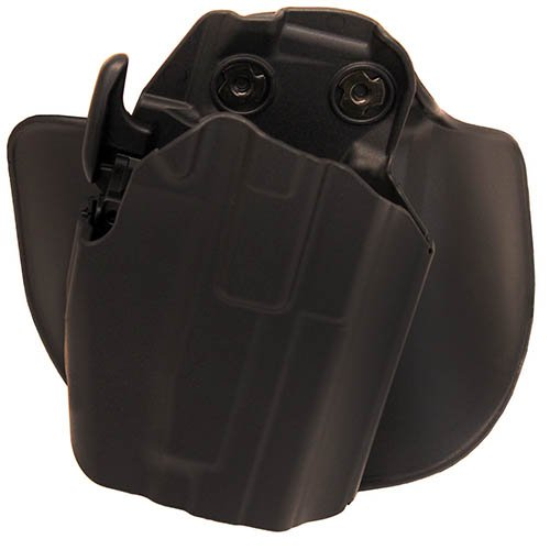 Safariland 578 7TS GLS Pro-Fit, Standard Frame, Sub-Compact Slide, Paddle & Belt Loop Holster, Plain Black, Right Hand