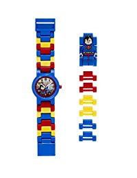 LEGO DC Superman Watch Watch with Minifigure Link