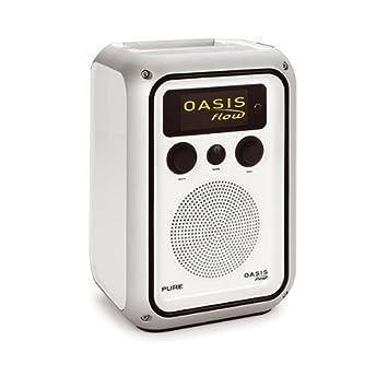 Pure Oasis Flow Wetterfestes, Tragbares Radio (Internet /DAB/DAB+/UKW