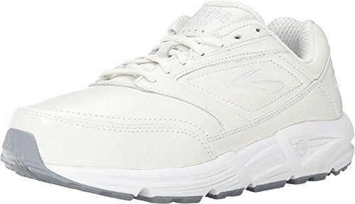 Brooks Women's Addiction Walker Walking Shoe,White,8.5 B