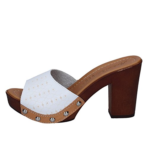 MADE ITALY Femme IN Bianco Mules Pour Zxr0vZCqw