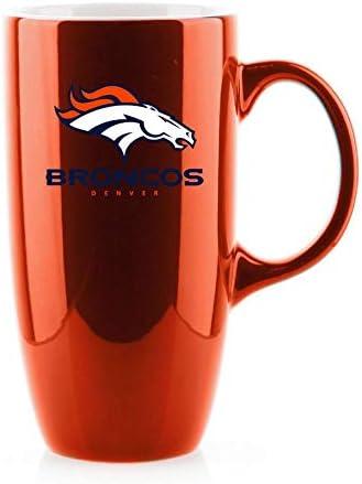 Duck House NFL Denver Broncos Unisex Vintage Style Bone China Mugvintage Bone China Mug 12 oz Orange