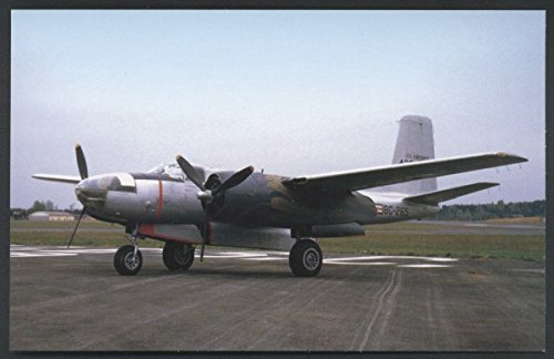 (Douglas A-26 Invader WWII Bomber Military USAF Aircraft Airplane Postcard)