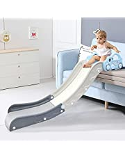 Kids Sofa Slide Climbing Slide for Bed Toys for Kids Playing Home Easy to Assemble The Lengthen Board Playset for Having Fun Over 36-Month-Old Toddlers (Blue)