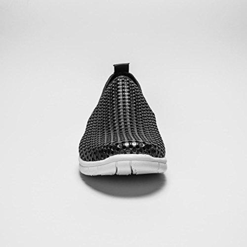 Holees Original Baskets Mode A Enfiler (Noir)