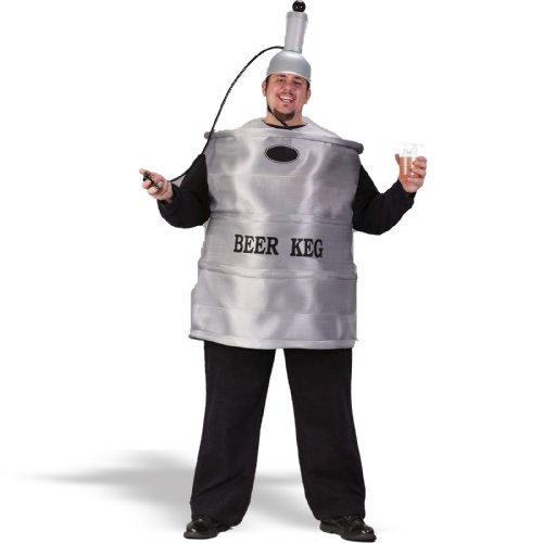 Beer Keg Costume - Plus Size - Chest Size (Keg Costumes)