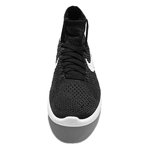 Nike Wmns Lunarepic Flyknit - Zapatillas de running Mujer Blanco (Black / White-Anthracite-Volt)
