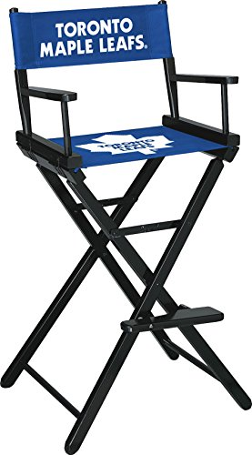 (Imperial Officially Licensed NHL Merchandise: Directors Chair (Tall, Bar Height), Toronto Maple Leafs)