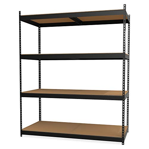 Lorell 99839 Archival Shelving Storage Rack, 84